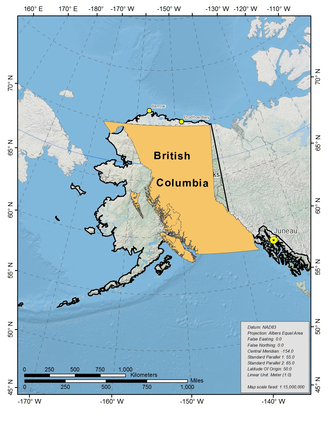Churchill Alaska Map.Toolik Field Station General Maps