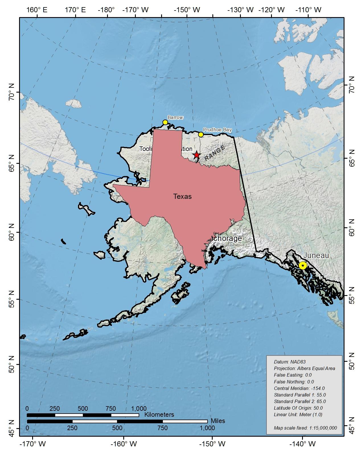 Toolik Field StationGeneral Maps - Us map w alaska